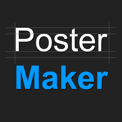 image about Printable Banner Maker identified as Totally free on the web Poster producer -